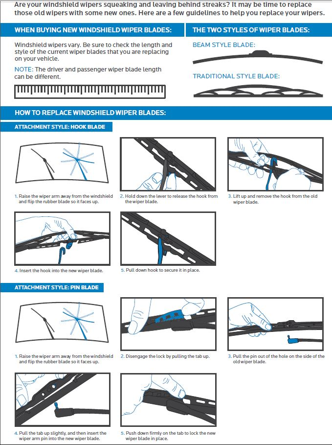 how to stop new windshield wipers from squeaking